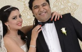 فريد غنام يفاجئ زوجته برسالة رومانسية