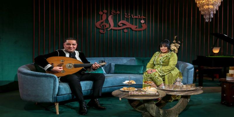 Photo of نجاة عتابو تستقبل طليقها حسن ديكوك في MBC5