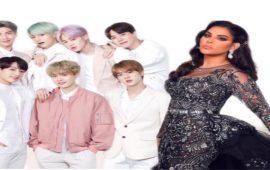 سابقة.. أحلام وفرقة BTS العالمية في عمل مشترك