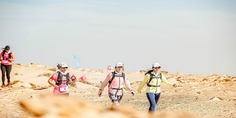 """الداخلة تحتضن النسخة السادسة للتحدي الرياضي النسائي التضامني """"الصحراوية 2020"""""""