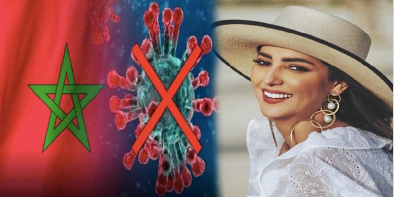 """صورة فيروس """"كورونا"""" يعيد مريم سعيد للواجهة"""