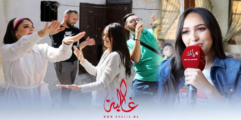 """Photo of حصريا.. أجواء تصوير """"مجنونة"""" مع هند زيادي وسامية أقريو والجزائري """"ريفكا""""- فيديو"""
