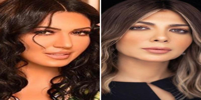 Photo of بحضور أسماء لمنور.. أصالة تقطر الشمع على طليقها