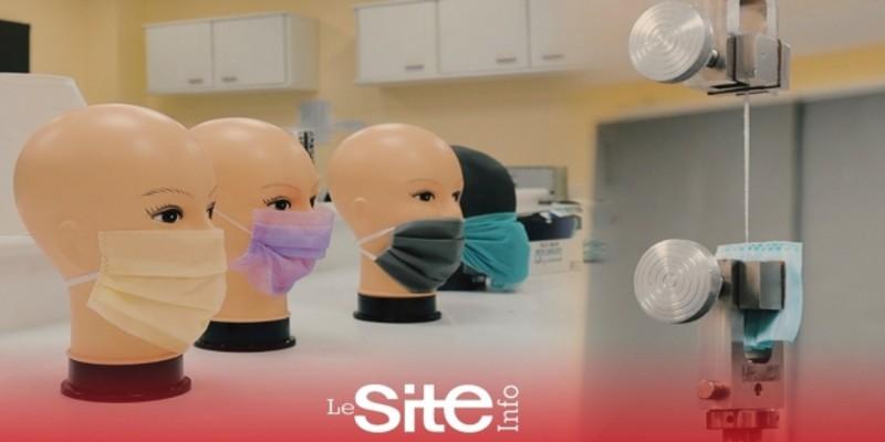 صورة تعرفوا على طريقة التأكد من سلامة الكمامات الطبية في المغرب قبل بيعها للمواطنين – فيديو