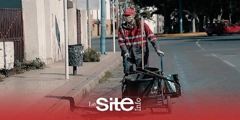 """Photo of """"في زمن كورونا"""".. عامل نظافة يروي تفاصيل عمله في عز الأزمة -فيديو"""