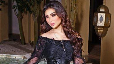 صورة دنيا بطمة تنعي أمير الكويت