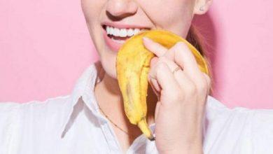 صورة قشر الموز لتبييض الأسنان.. فوائده وطريقة استعماله