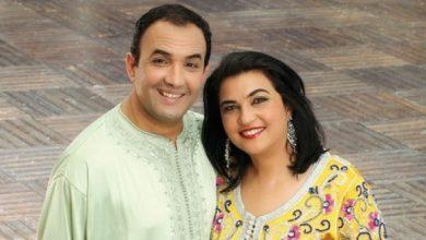 صورة رشيد الوالي يحتفل مع زوجته بمناسبة خاصة -صورة