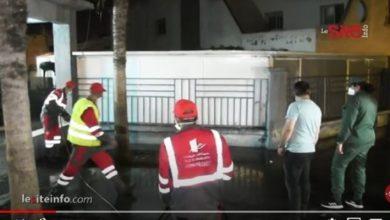 صورة بعد ارتفاع عدد المصابين بكورونا.. إنشاء مستشفى ميداني بمنطقة ابن مسيك – فيديو