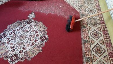 Photo of حيلة بسيطة وسريعة لتنظيف السجادات بدون مجهود
