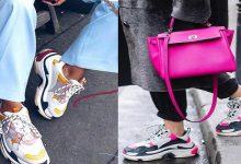 صورة موضة خريف وشتاء2020/2021.. الأحذية الرياضة المكتنزة -صور
