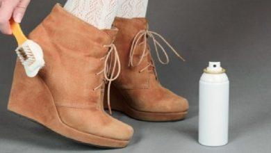 """صورة استعدادا لفصل الشتاء.. إليك أفضل طريقة لتنظيف حذاء """"شامواه"""""""
