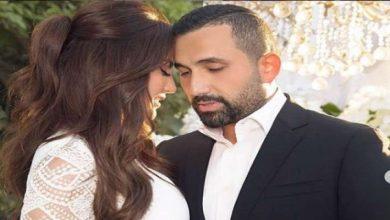 صورة حب وغزل بين درة وزوجها هاني سعد
