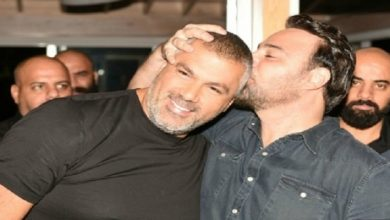 """صورة بسبب """"اللقاح""""… سوء تفاهم بين فارس كرم  وعاصي الحلاني-صورة-"""