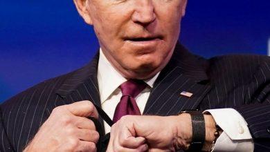 صورة ساعة يد جو بايدن الأغلى من نوعها