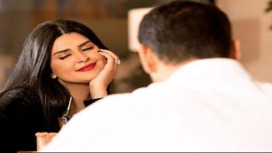 """صورة لأول مرة.. زوج سلمى رشيد يشاركها كليب""""انت إلي""""-صورة"""