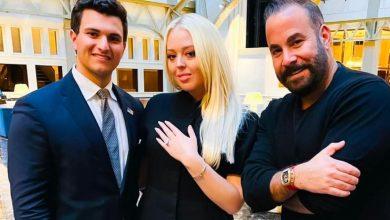 صورة بالصور..خاتم خطوبة تيفاني ترامب المذهل من تصميم لبناني