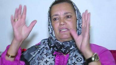 صورة جديد الحالة الصحية للفنانة نعيمة بوحمالة -صورة